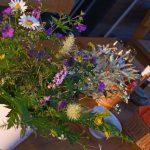 Adlerhorst Blumenstrauss Rita Franz Tisch