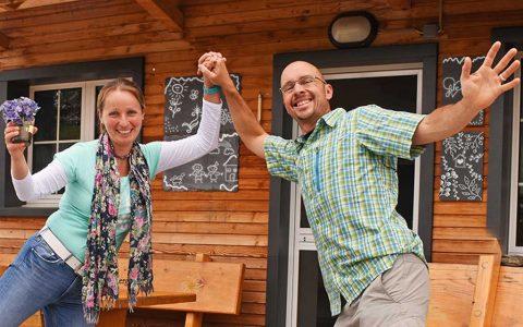 Andrea Martin Keller Adlerhorst Hüttenwart-Team