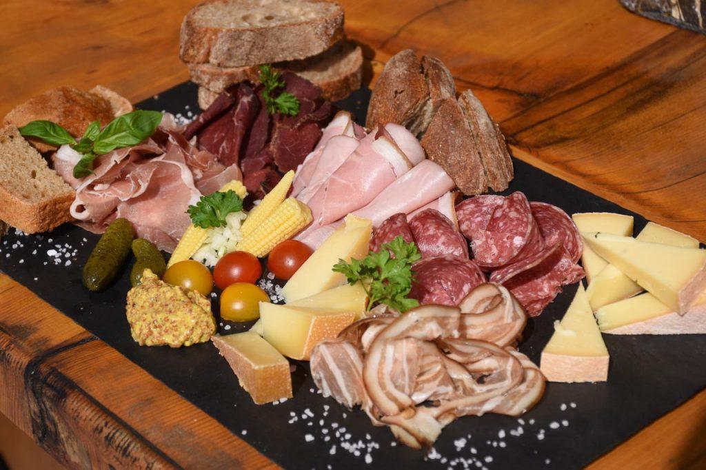 Adlerhorst Plättli Trockenfleisch Käse
