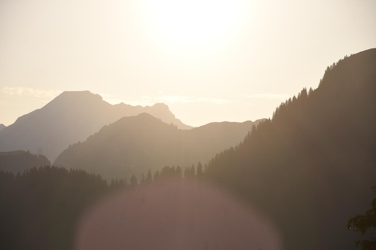 Sonnenaufgang Adlerhorst