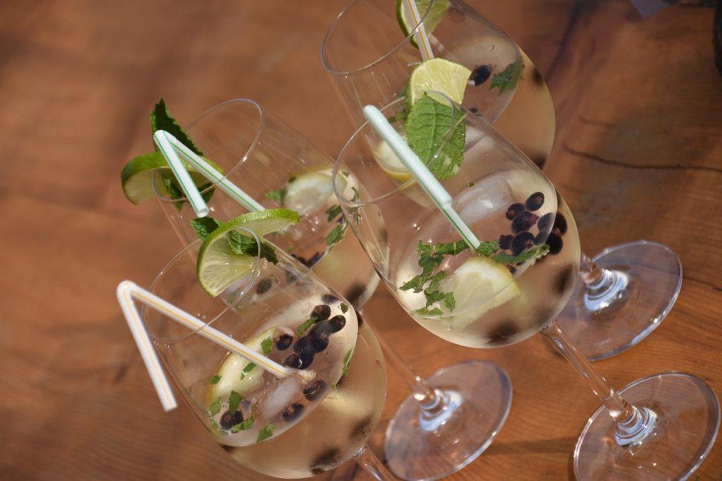 Gespritzter Weisswein