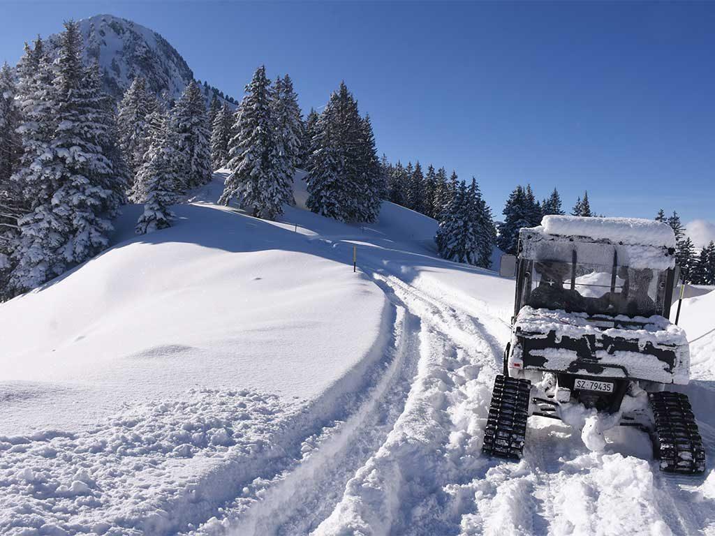 Adlerhorst Polaris Ranger Winterwanderweg