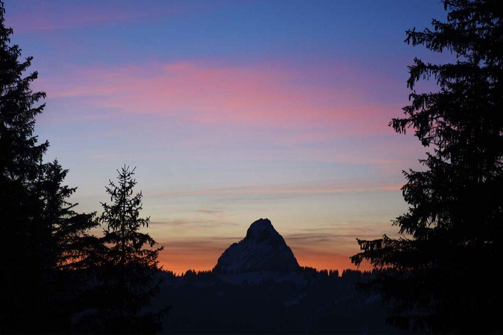 Grosser Mythen Sonnenuntergang