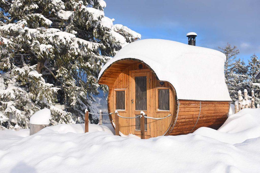 Alpen-Fass-Sauna Adlerhorst, Hoch-Ybrig