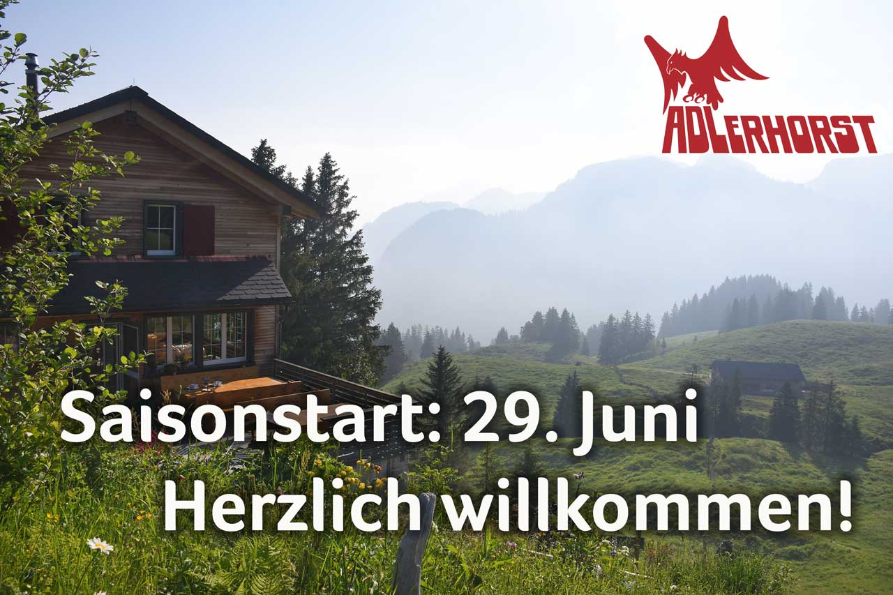 Adlerhorst Oberiberg Saisonstart 2019