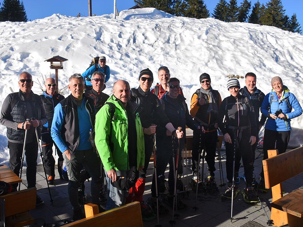 Adlerhorst Gruppen-Event Winter