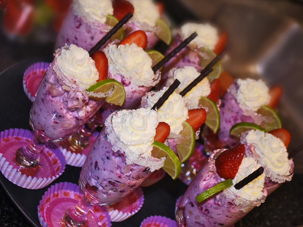 Adlerhorst Dessert Menü Gruppenevents