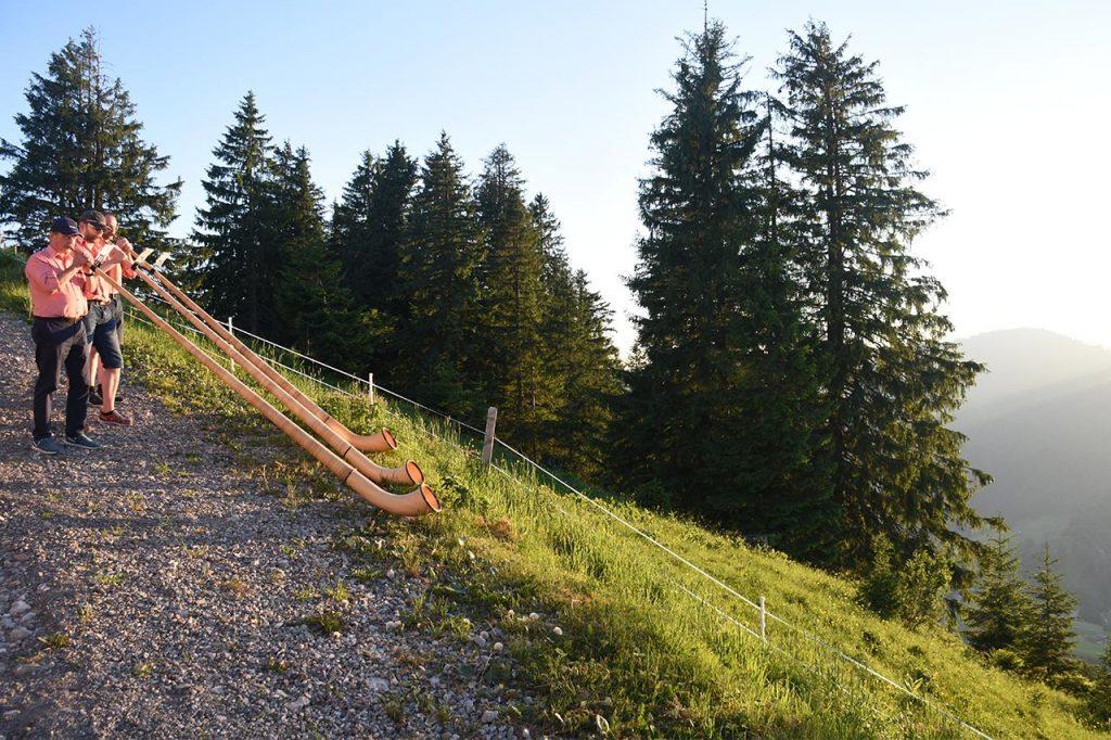 Alphorn Hoch-Ybrig Oberiberg Adlerhorst