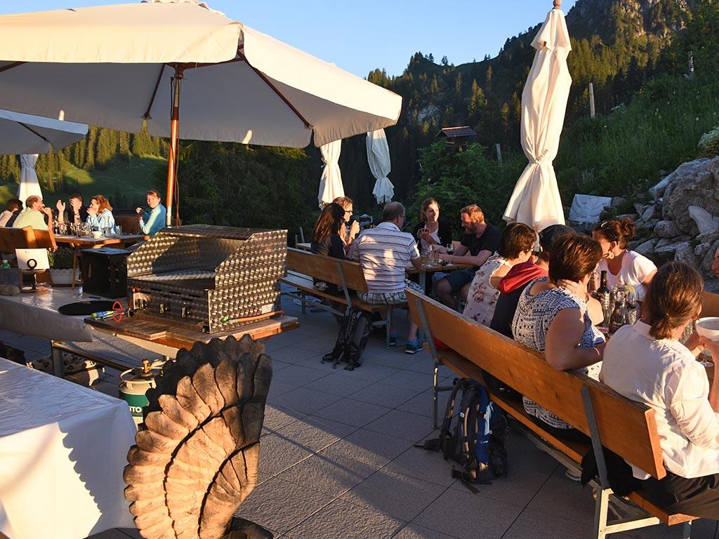 Adlerhorst Firmenevent Firmenanlass Abendessen