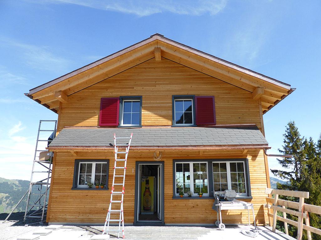 Adlerhorst Oberiberg Neubau 2013