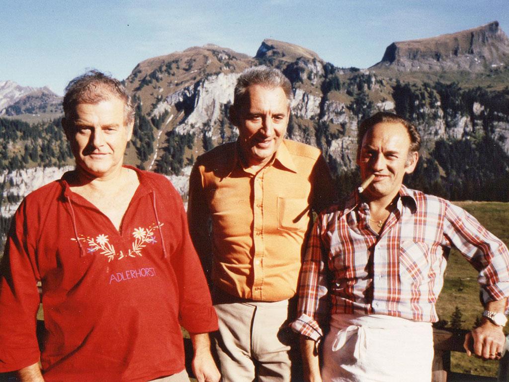 Toni Reichmuth, Hans Herzog, Jack Tanner