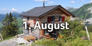 Bergbeizli Adlerhorst aussen Nationalfeiertag
