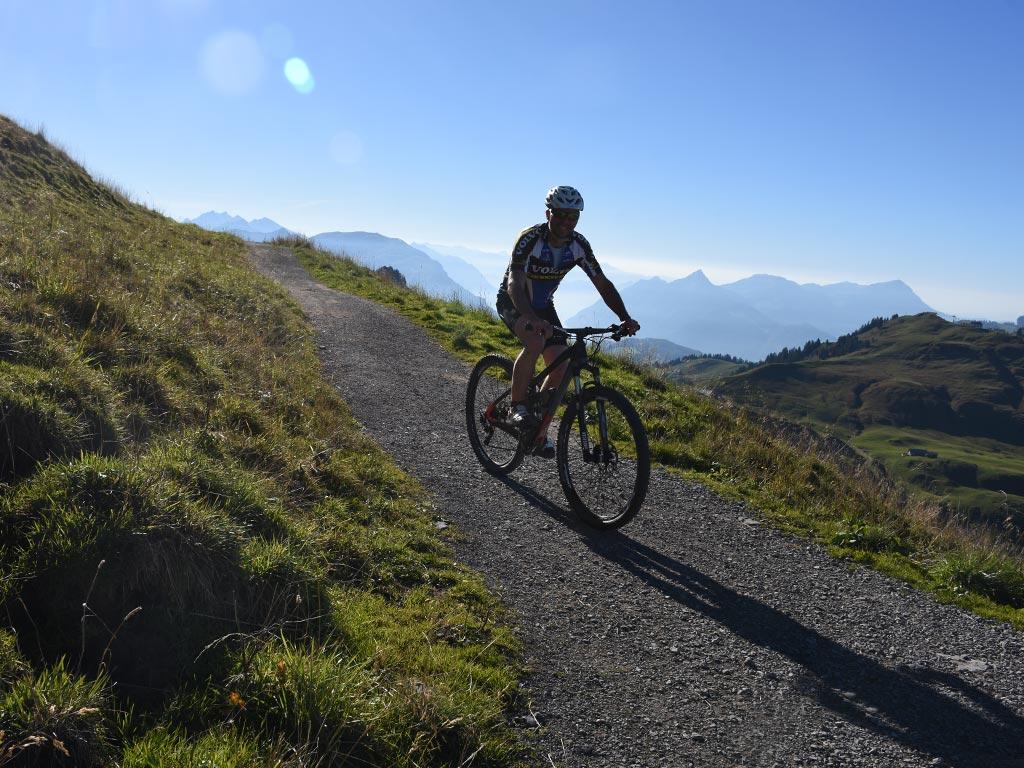 Mountainbike Route 967 Hoch-Ybrig Adlerhorst