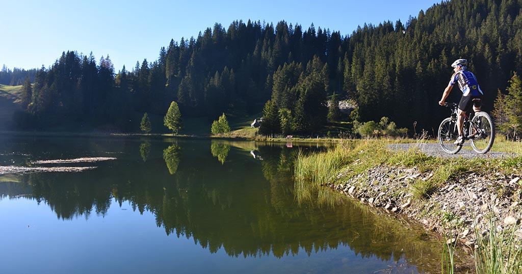 Mountainbike Seeblisee Route 967 Hoch-Ybrig Adlerhorst