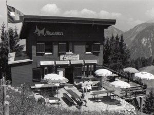 antikes Foto Skihaus Adlerhorst