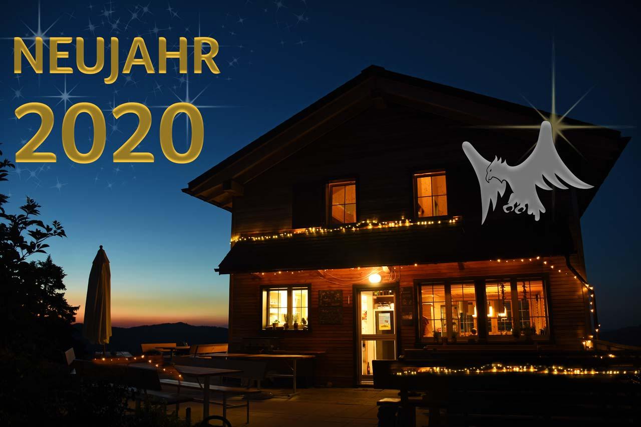 Silvester Neujahr Adlerhorst 2020