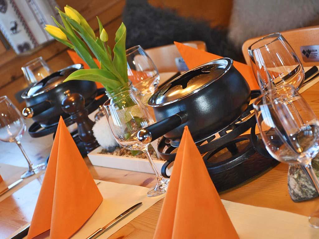 Fondue Chinoise Dinner Adlerhorst