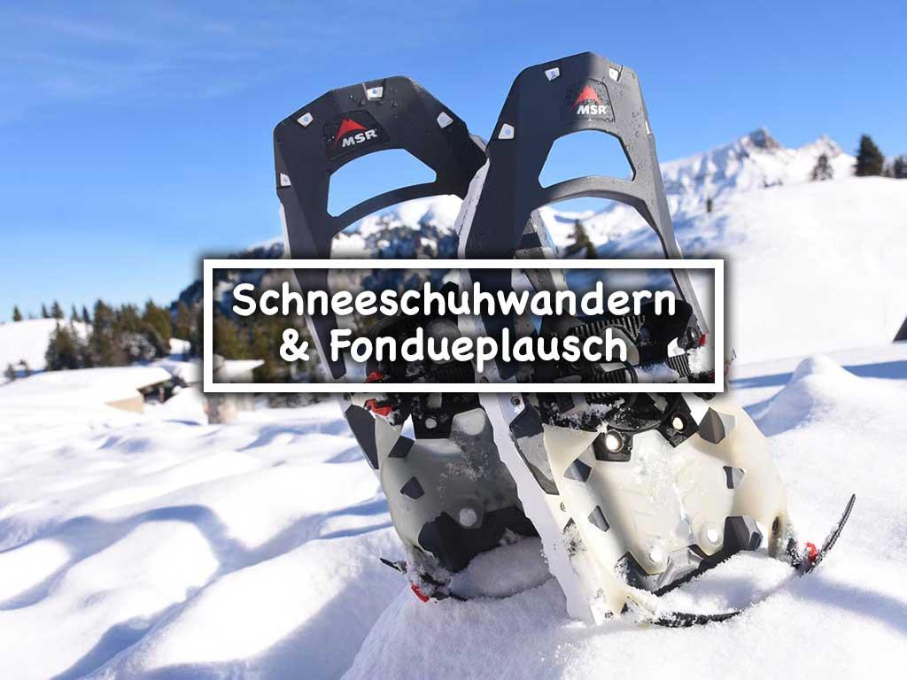 Schneeschuhwandern Hoch-Ybrig Adlerhorst