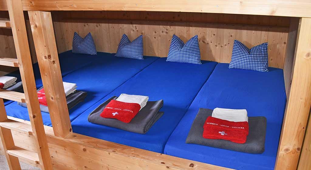 Adlerhorst Oberiberg Unterkunft Zimmer Mehrbettzimmer 8er