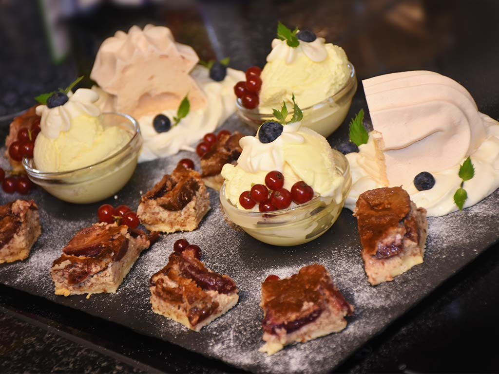 Adlerhorst Dessert Selection