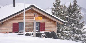 Adlerhorst Schneesturm schlechte Witterung