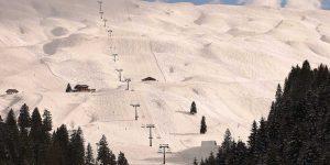 Skigebiet Hoch-Ybrig Bergbahnen Winter Sessellift