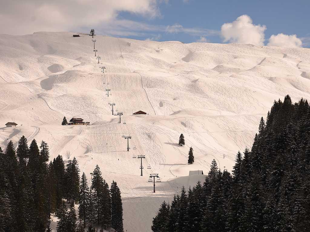 Skigebiet Skilift Bergbahn Hoch-Ybrig